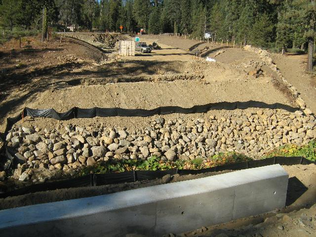 New Grizzly Creek Bridge site