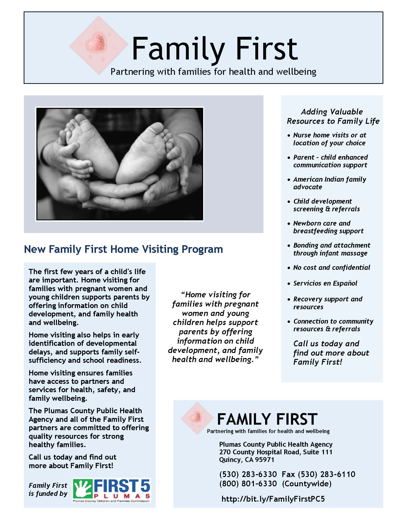 Family First- Flyer