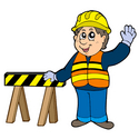 construction worker graphic